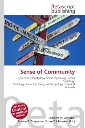 Sense of Community als Buch von