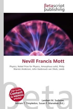 Nevill Francis Mott als Buch von