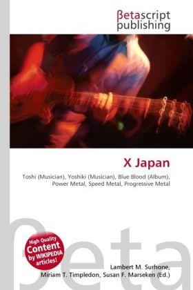X Japan als Buch von
