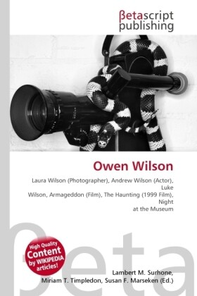 Owen Wilson als Buch von