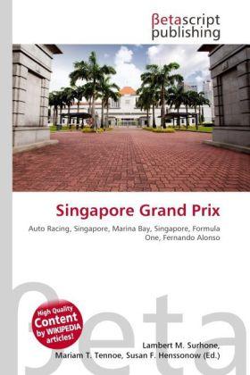 Singapore Grand Prix als Buch von