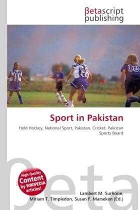 Sport in Pakistan als Buch von