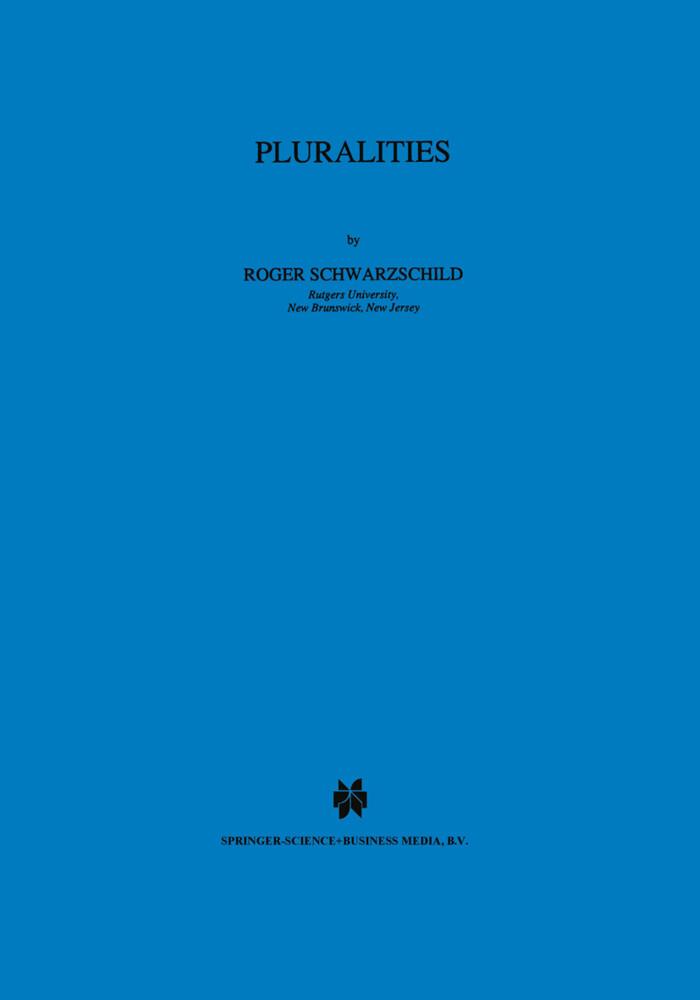 Pluralities als Buch (gebunden)