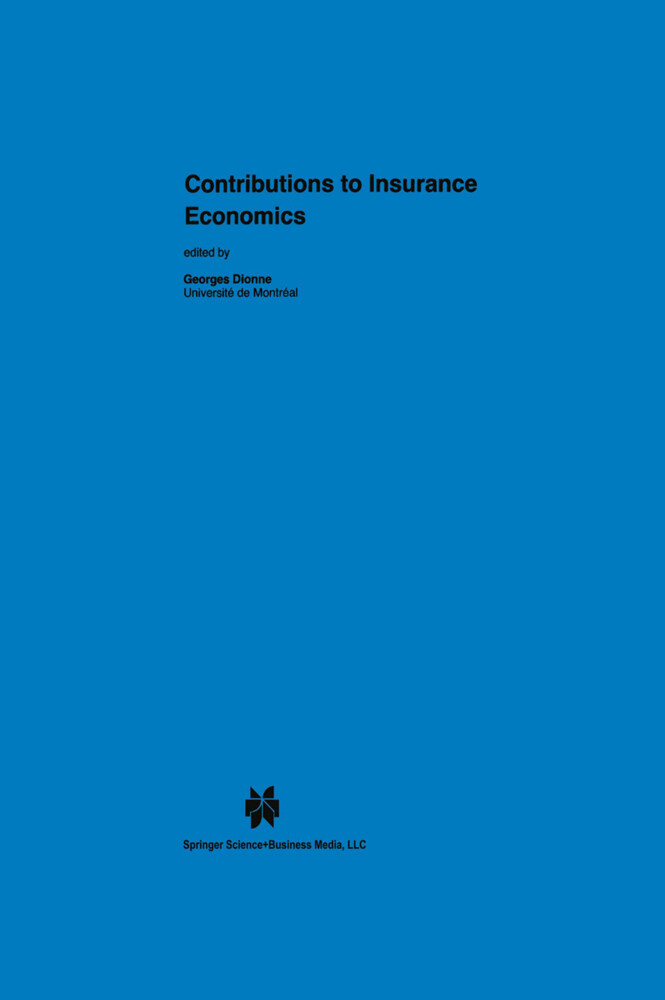 Contributions to Insurance Economics als Buch