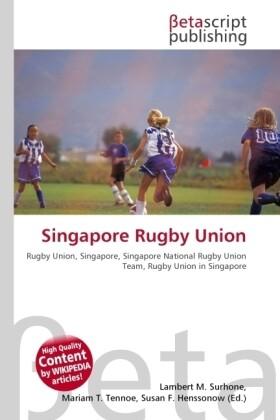 Singapore Rugby Union als Buch von