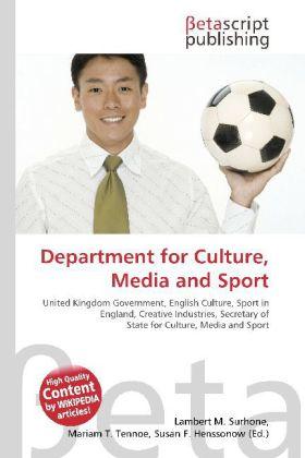 Department for Culture, Media and Sport als Buc...