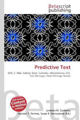 Predictive Text als Buch von