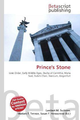 Prince´s Stone als Buch von