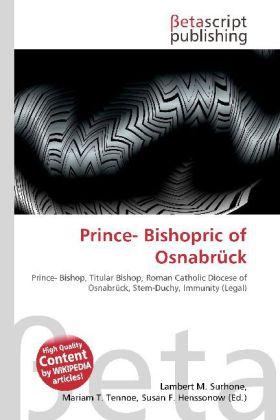 Prince- Bishopric of Osnabrück als Buch von