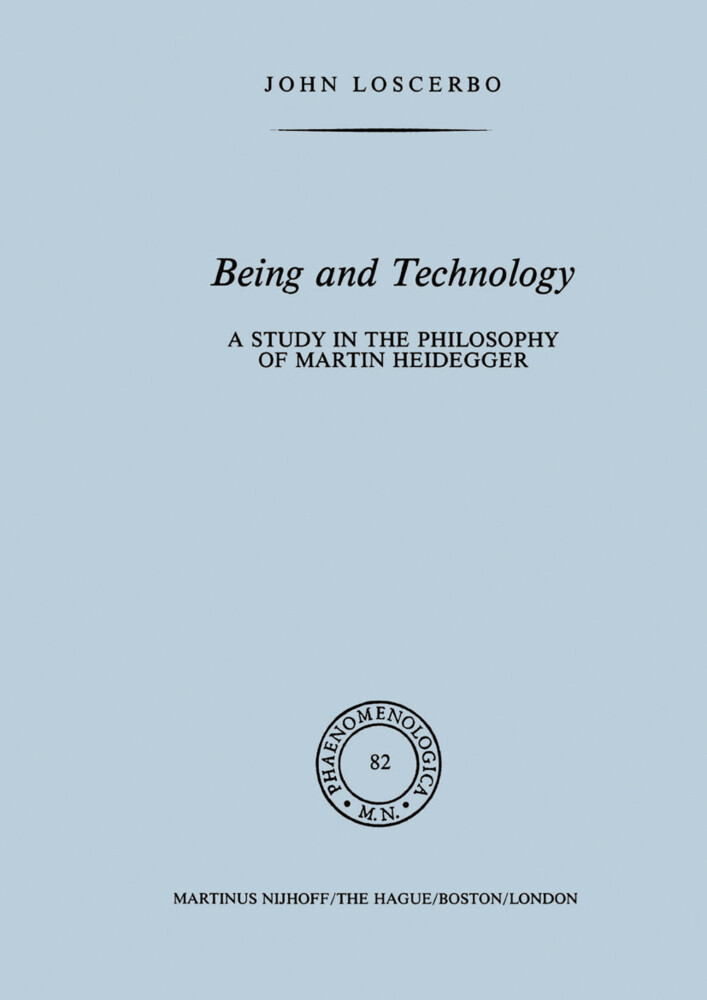 Being and Technology als Buch