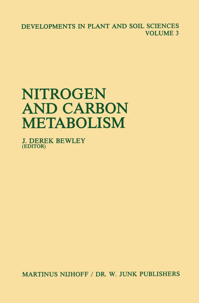 Nitrogen and Carbon Metabolism als Buch