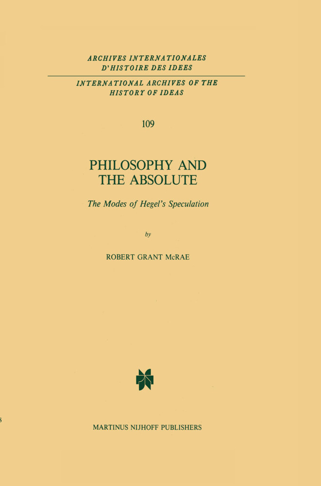 Philosophy and the Absolute als Buch