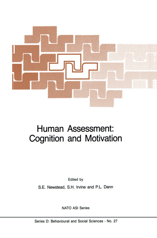 Human Assessment: Cognition and Motivation als ...