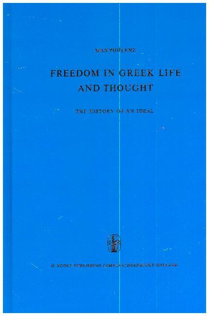 Freedom in Greek Life and Thought als Buch
