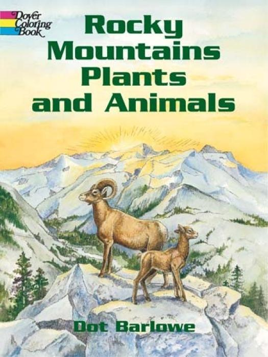 Rocky Mountain Plants and Animals Coloring Book als Taschenbuch