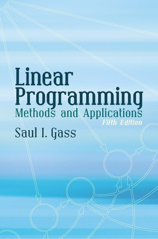 Linear Programming: Methods and Applications als Taschenbuch