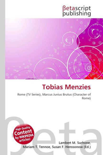 Tobias Menzies als Buch von