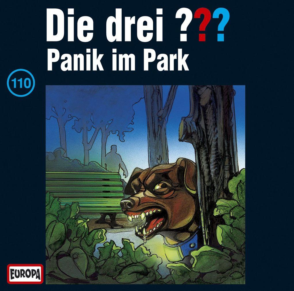 Die drei ??? 110. Panik im Park (drei Fragezeichen) CD als Hörbuch