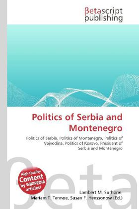 Politics of Serbia and Montenegro als Buch von