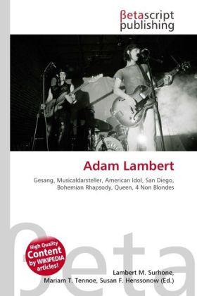 Adam Lambert als Buch von