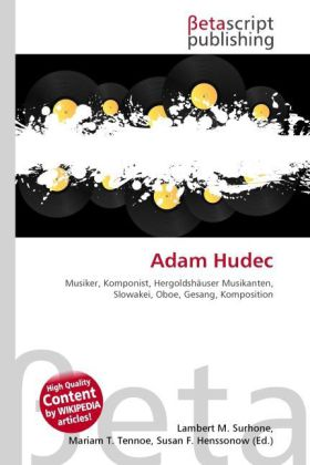 Adam Hudec als Buch von