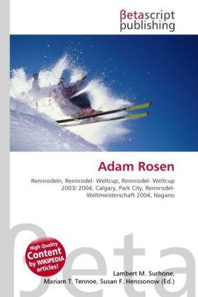 Adam Rosen als Buch von