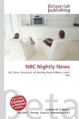 NBC Nightly News als Buch von