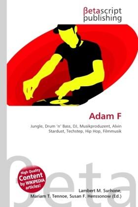 Adam F als Buch von