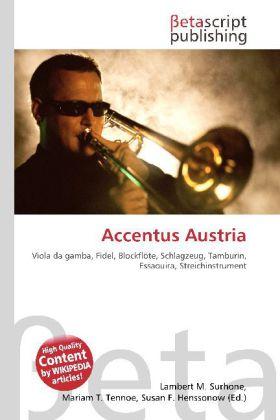 Accentus Austria als Buch von