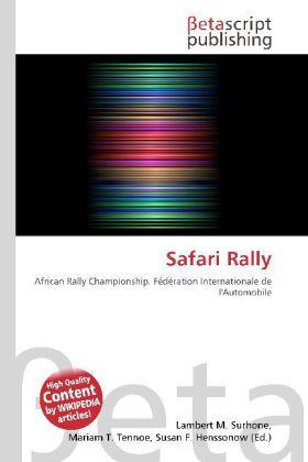 Safari Rally als Buch von