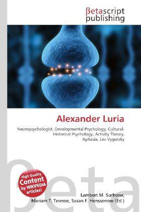 Alexander Luria als Buch von