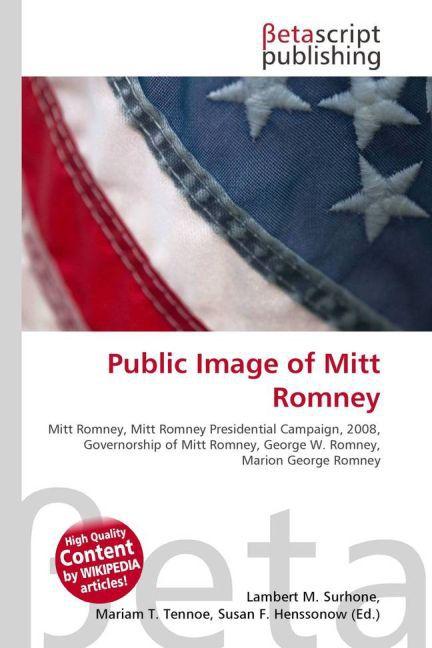 Public Image of Mitt Romney als Buch von