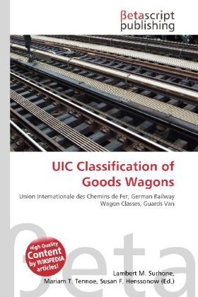 UIC Classification of Goods Wagons als Buch von