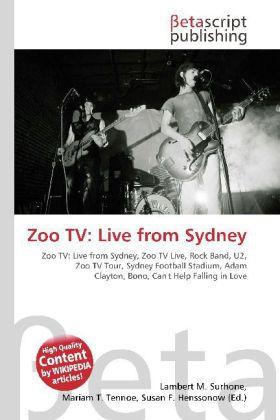 Zoo TV: Live from Sydney als Buch von