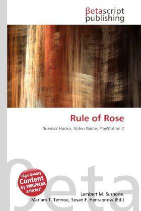 Rule of Rose als Buch von
