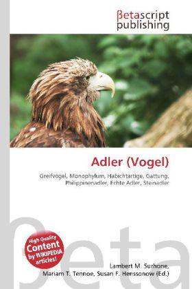 Adler (Vogel) als Buch von