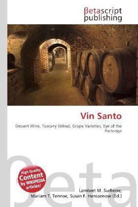 Vin Santo als Buch von