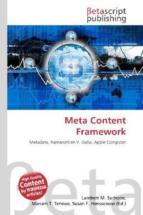 Meta Content Framework als Buch von