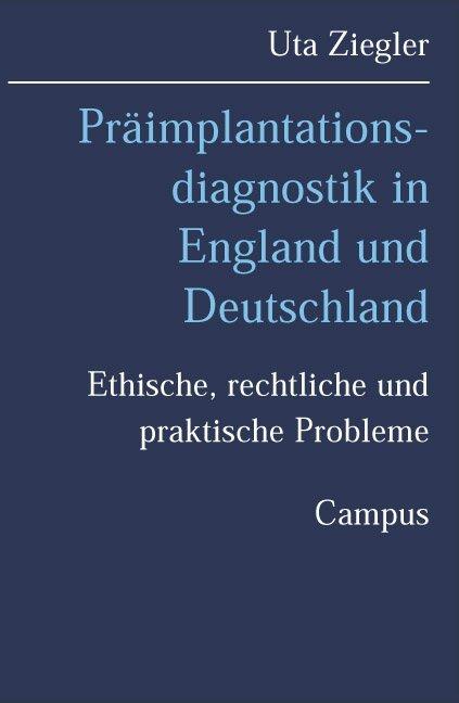 Präimplantationsdiagnostik in England und Deutschland als Buch