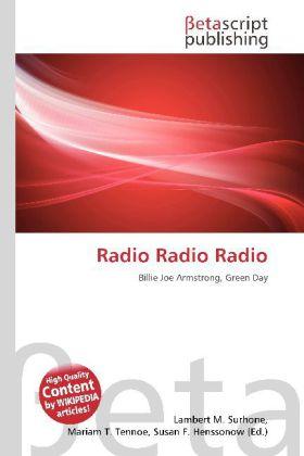 Radio Radio Radio als Buch von