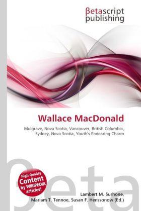 Wallace MacDonald als Buch von