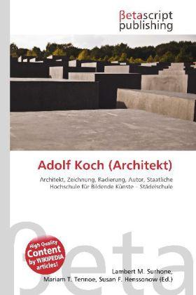 Adolf Koch (Architekt) als Buch von