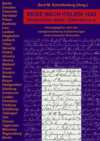 Reise nach Italien 1842 als Buch