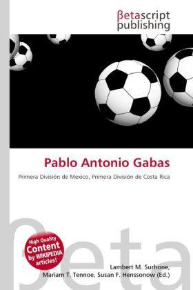 Pablo Antonio Gabas als Buch von