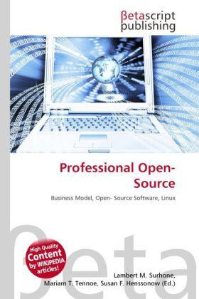 Professional Open- Source als Buch von