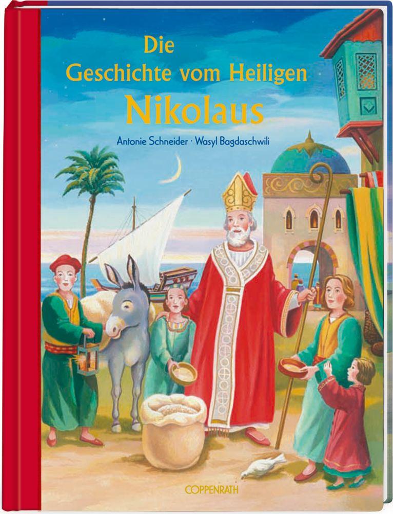 Die Geschichte vom Heiligen Nikolaus als Buch