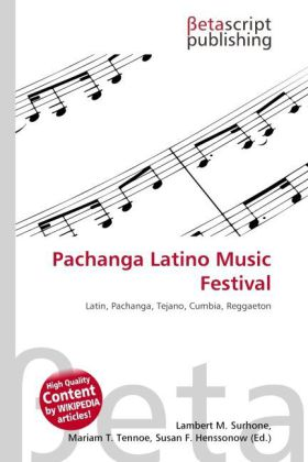 Pachanga Latino Music Festival als Buch von