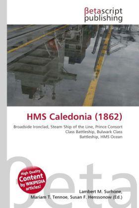 HMS Caledonia (1862) als Buch von