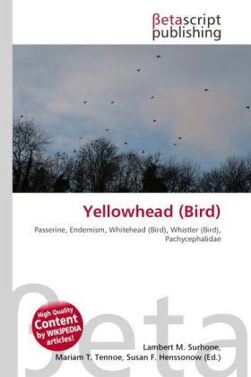 Yellowhead (Bird) als Buch von