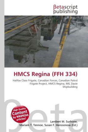 HMCS Regina (FFH 334) als Buch von